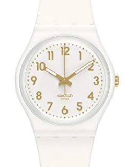 Swatch White Bishop Ladies Watch