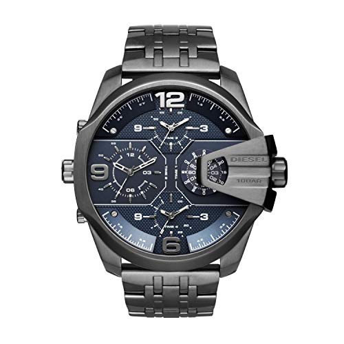 Diesel Men's Uber Chief Gunmetal Stainless Steel Watch