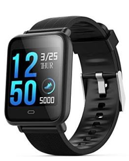Smart Watch Heart Rate Monitor Blood Pressure Pedometer Step Calorie Counter