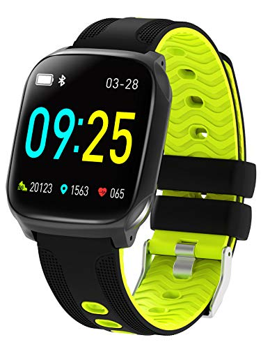Smart Watch Full Touch Screen Heart Rate Step Calorie Counter Call Message
