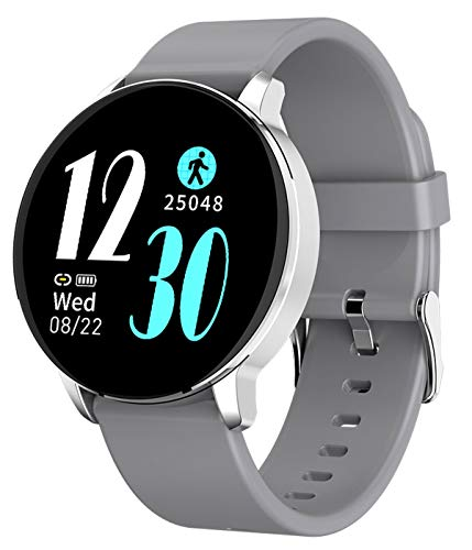 Smart Watch for Android iOS Touch Screen Heart Rate Sleep Tracker Pedometer Blood Pressure Step Calorie Fitness Watches for Men Women