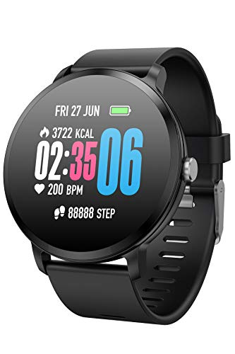Smart Watches Color Screen Pedometer Sleep Monitor Blood Pressure Heart Rate