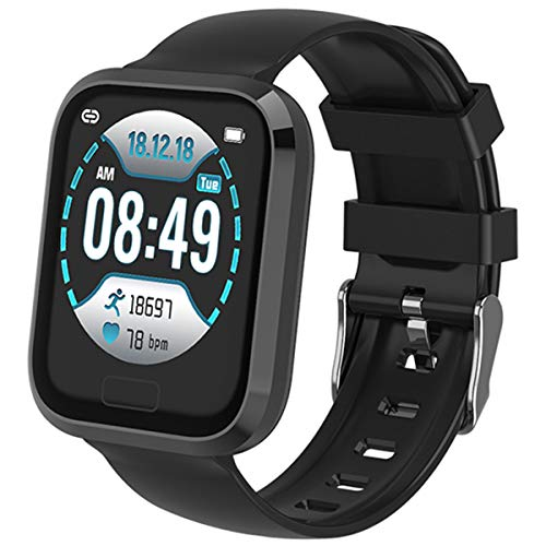 Smart Watch Sports Modes Heart Rate Monitor Sleep Tracker Step Calorie Counter Pedometer Fitness Tracker for Women Men