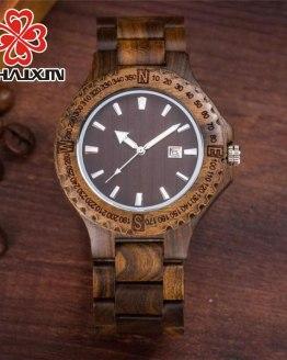 Sport Classical Quartz Wrist Light Watch Gentlemen