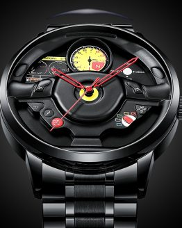 NIBOSI Wheel Rim Hub Watch Custom Design Sport Car Rim