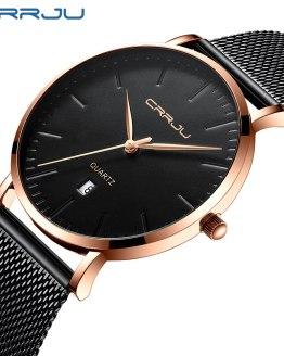 Mens Quartz Watches Men Business Male Clock