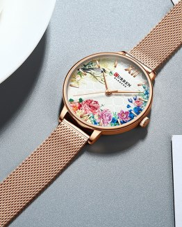 Luxury Ladies Watch Women Waterproof Bracelet Clock