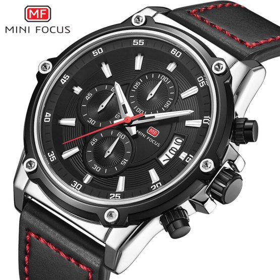 MINI FOCUS Men's Wrist Watch Men Waterproof