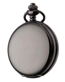 Steampunk Vintage Pocket Watch,Stainless Steel Quartz