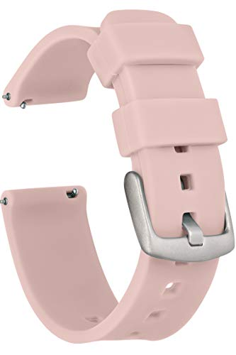 Quick Release Silicone Watch Band Strap 18mm