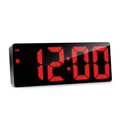 LED Digital Alarm Clock Adjustable Brightness