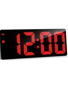 LED Digital Alarm Clock Adjustable Brightness
