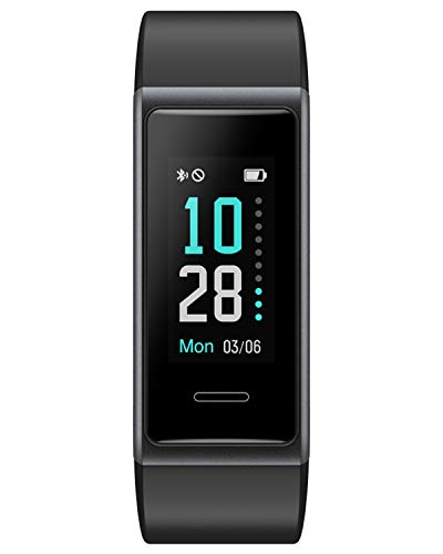 Waterproof Fitness Watch Heart Rate Monitor with Calories/Step Counter