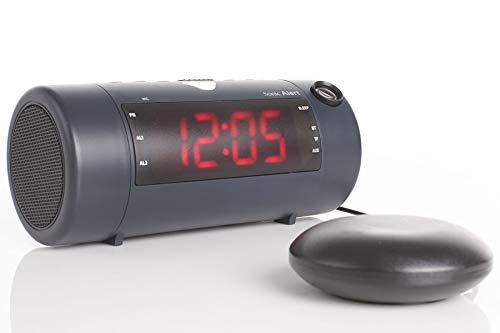 Sonic Alert Sonic Blast Super Loud Projection Alarm Clock
