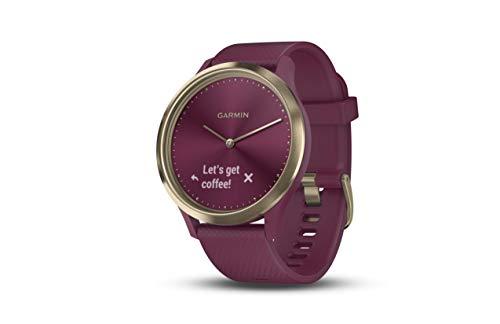 Garmin vivomove HR Sport, Hybrid Smartwatch for Men and Women