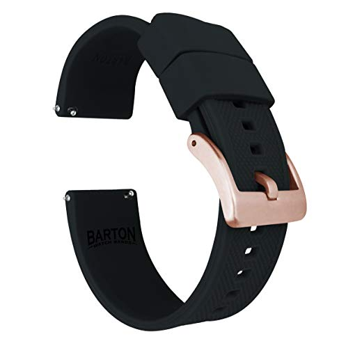 Rose Gold Buckle Quick Release Watch Band