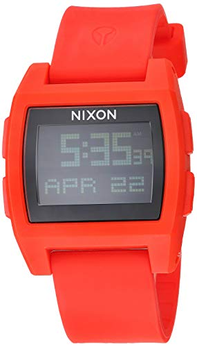 NIXON Base Tide A1104 - Red - 100m Water Resistant