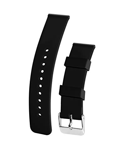 Silicone Watchband Strap Waterproof Washable