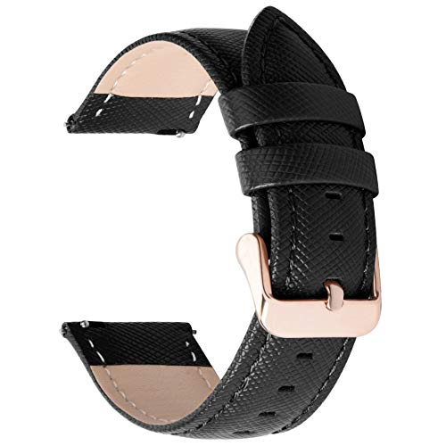 Genuine Leather Quick Release Leather Watch Band