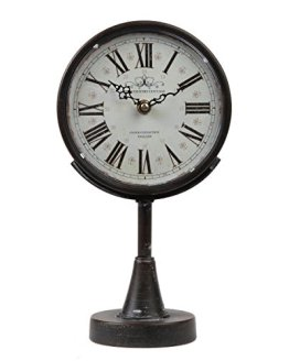 Lily's Home Antique Inspired Decorative Mantle Clock