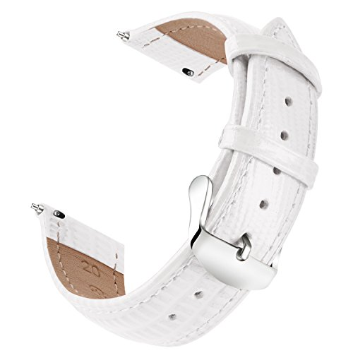 Leather Watch Strap Quick Release Genuine