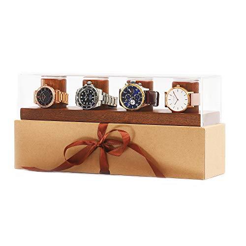 CLB Products Unique Storage Solid Oak Watch Box