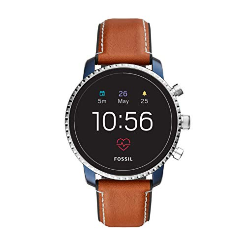 Explorist HR Heart Rate Stainless Steel and Leather