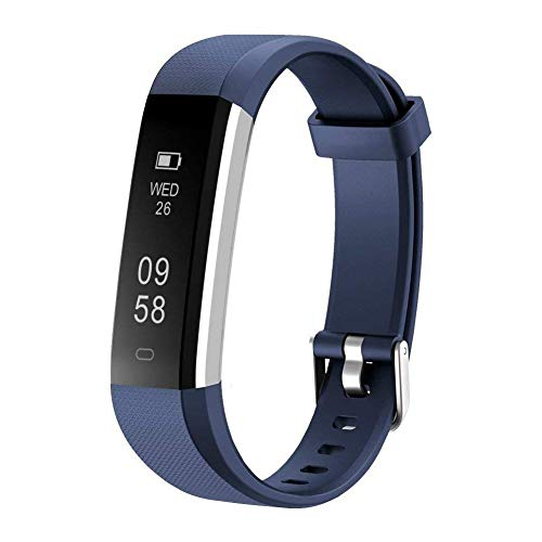 Letsfit Fitness Tracker with Heart Rate Monitor, Slim Activity Tracker Watch