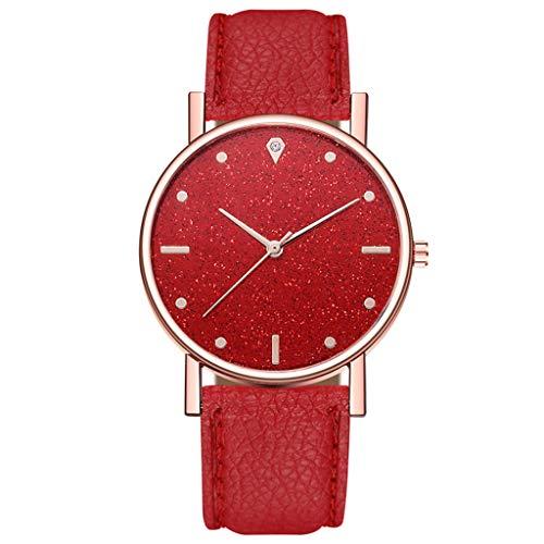 Red Women's Wrist Watches Women's Luxury Bokeley