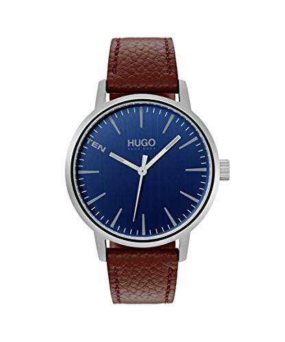 HUGO by Hugo Boss Watch with Leather Strap