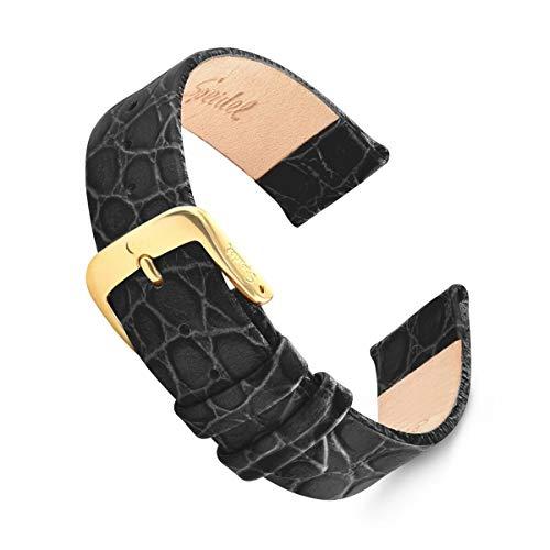 Genuine Leather Crocodile Grain Watch