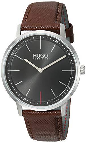 HUGO by Hugo Boss Quartz Watch with Leather Strap