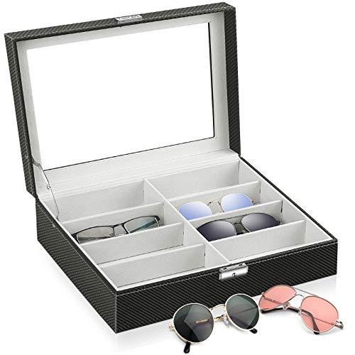 Watch Storage Box Lockable Case Black