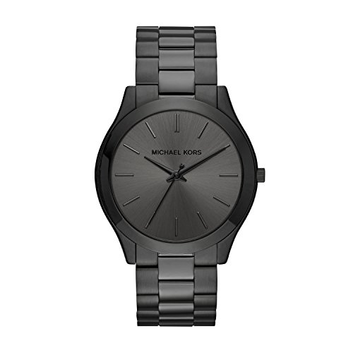 Michael Kors Men's Slim Runway Black Watch