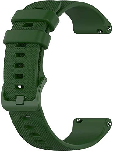Quick Release Silicone Rubber Watch Band Strap