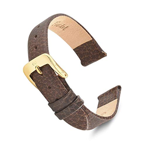 Watch Band 11mm Brown Fine Cowhide Replacement Strap