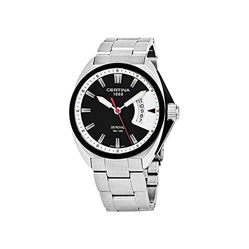 Certina Men's Watch Royal Silvertone Strap