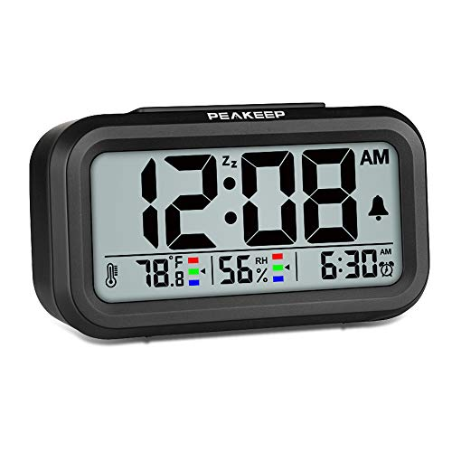 Humidity Temperature Digital Alarm Clock