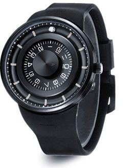 Skone Unique Men's Watches Waterproof, Fashion Silicone Strap