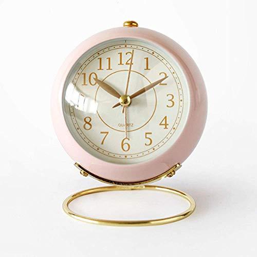 Non-Ticking Silent Small Table Clock