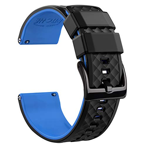 Silicone Watch Band Compatible with Samsung Galaxy Watch 3