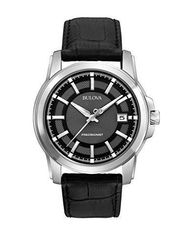 Bulova Men's Precisionist Leather Strap Watch