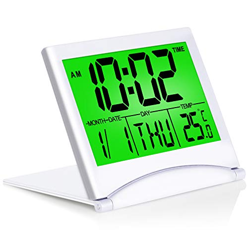 Digital Travel Alarm Clock with Backlight