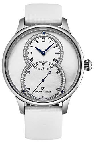 18K White Gold Automatic Watch Jaquet Droz