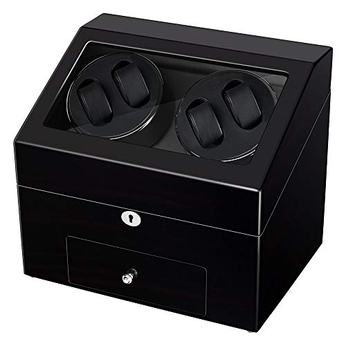 Automatic Watch Winder Rotating with Drawer