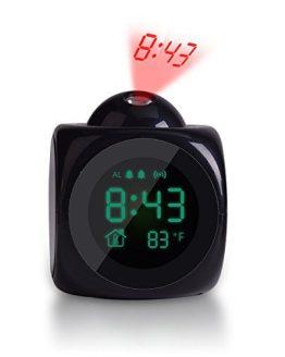 TechKen Projection Alarm Clock Voice Alarm Clock