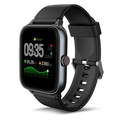 5ATM Waterproof Smart Watches for Men Fitness Tracker
