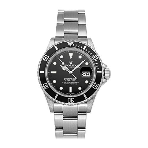 Rolex Submariner Mechanical (Automatic) Black Dial Mens Watch