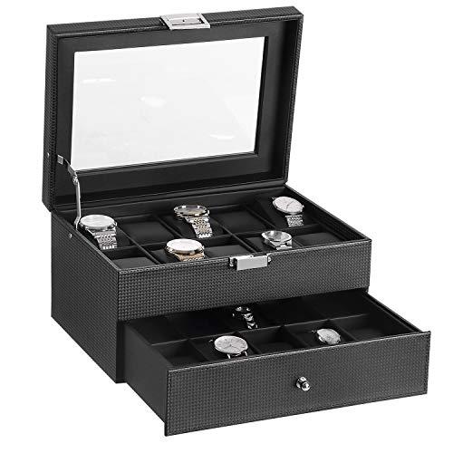 Watch Box Organizer Storage Case