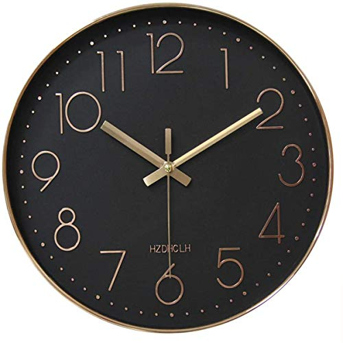 Kitchen Rose Gold Wall Clock